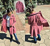 Детское осеннее пальто на девочку