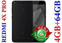 Xiaomi Redmi 4X PRO 4/64ГБ+СТЕКЛО+БАМПЕР Черный