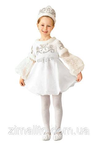 Снежинка Зима карнавальный костюм детский