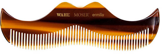 Профессиональная расческа для бороды и усов Wahl Moustache Comb