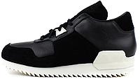"Женские кроссовки Adidas Originals ZX700 Remastered ""Black/White"" (aдидас ZX) черные"