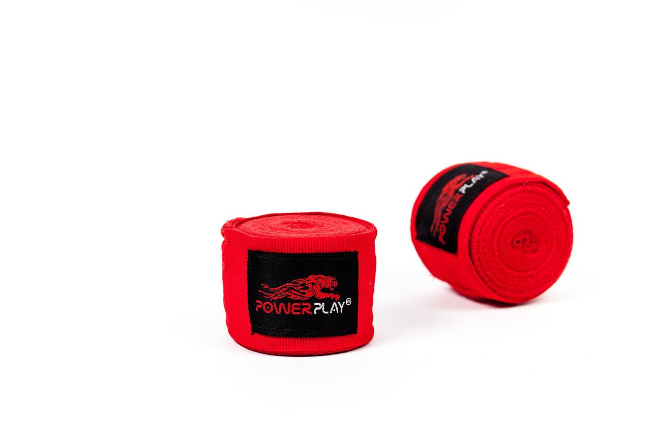 Бинты боксерские PowerPlay 3047 red 2,5m