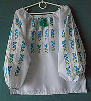 Вишиванка (вышиванка) для дівчинки 5-6 років