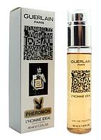 Мужской мини-парфюм с феромонами Guerlain L'Homme IdealГерлен (Л'Хом Идеал) ,45 мл
