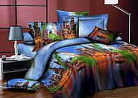 Двуспальный набор постельного белья  138