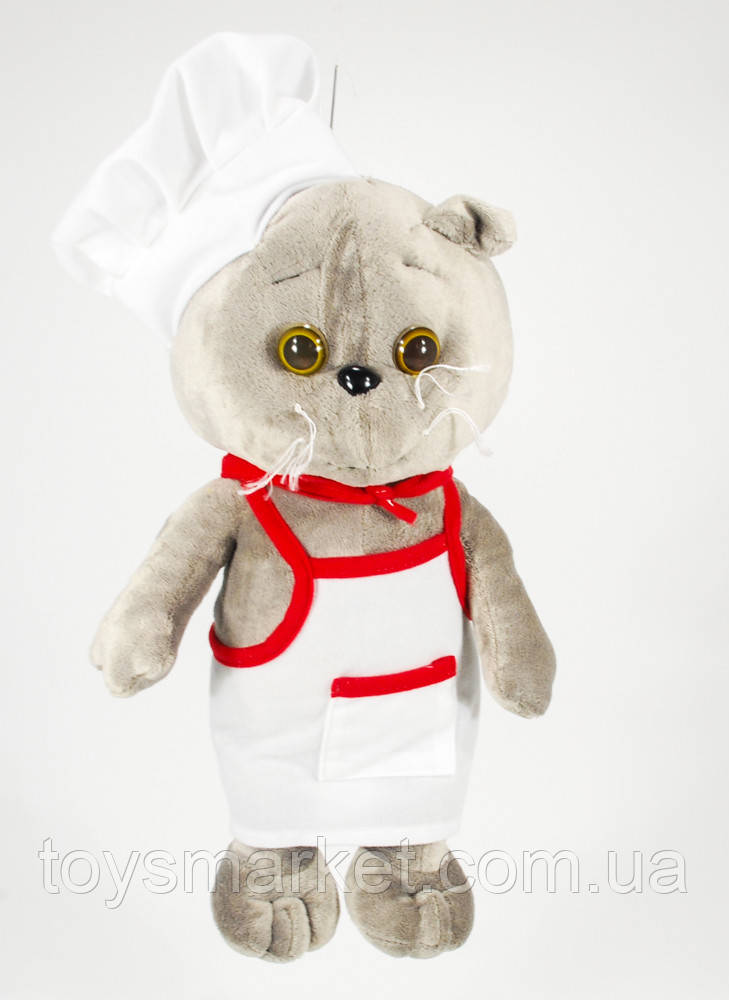 Мягкая игрушка Кот поваренок