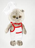 Детская мягкая игрушка,кот поваренок