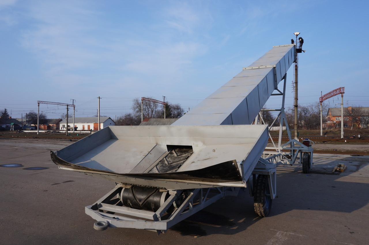 Транспортер для загрузки в вагон конвейер купить санкт петербург
