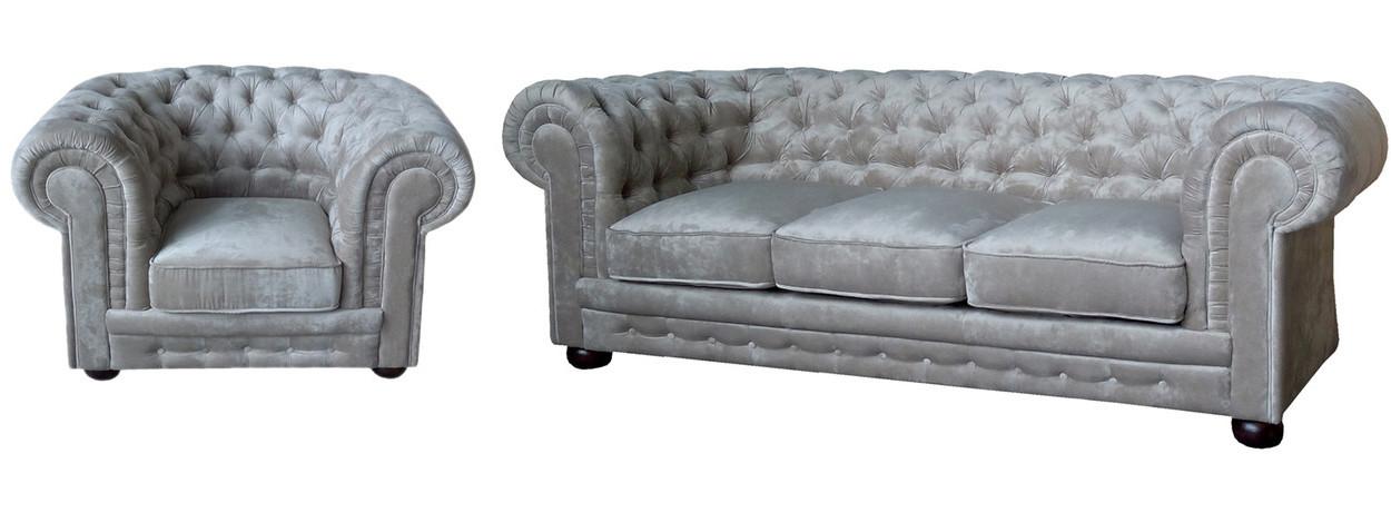 """Комплект меблів в англійському стилі """"Chester"""" (Честер). (3р+1)"""