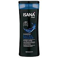 ISANA men Shampoo Extra Power - Шампунь для мужчин Экстра сила для нормальных волос, 300 мл
