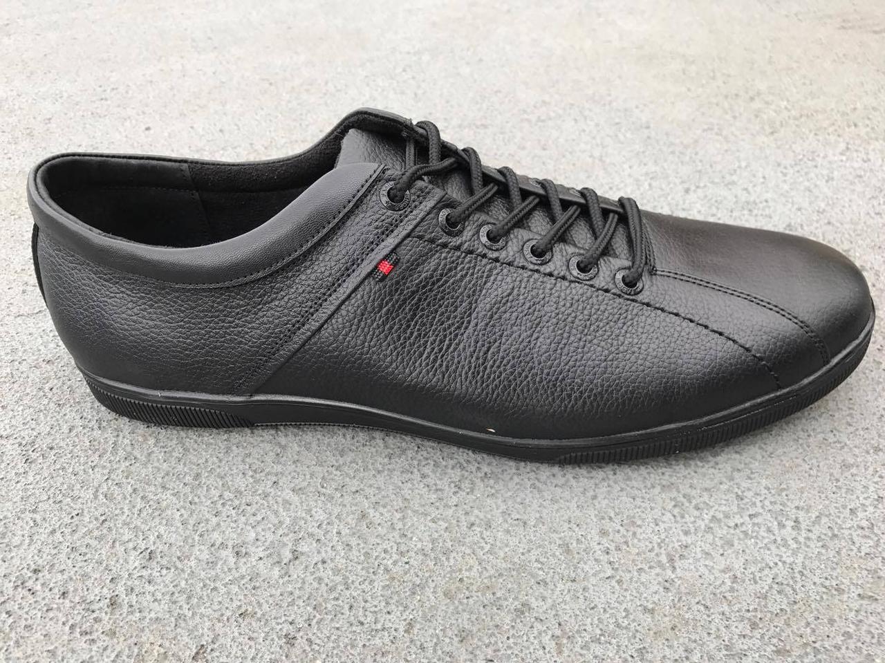 9cb56e006 Обувь больших размеров Кожаные мужские кроссовки, спортивные туфли Big Boss  размеры 46,47,