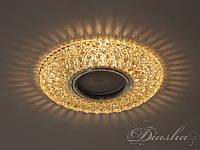 Светильник со встроенной светодиодной подсветкой 7760WH