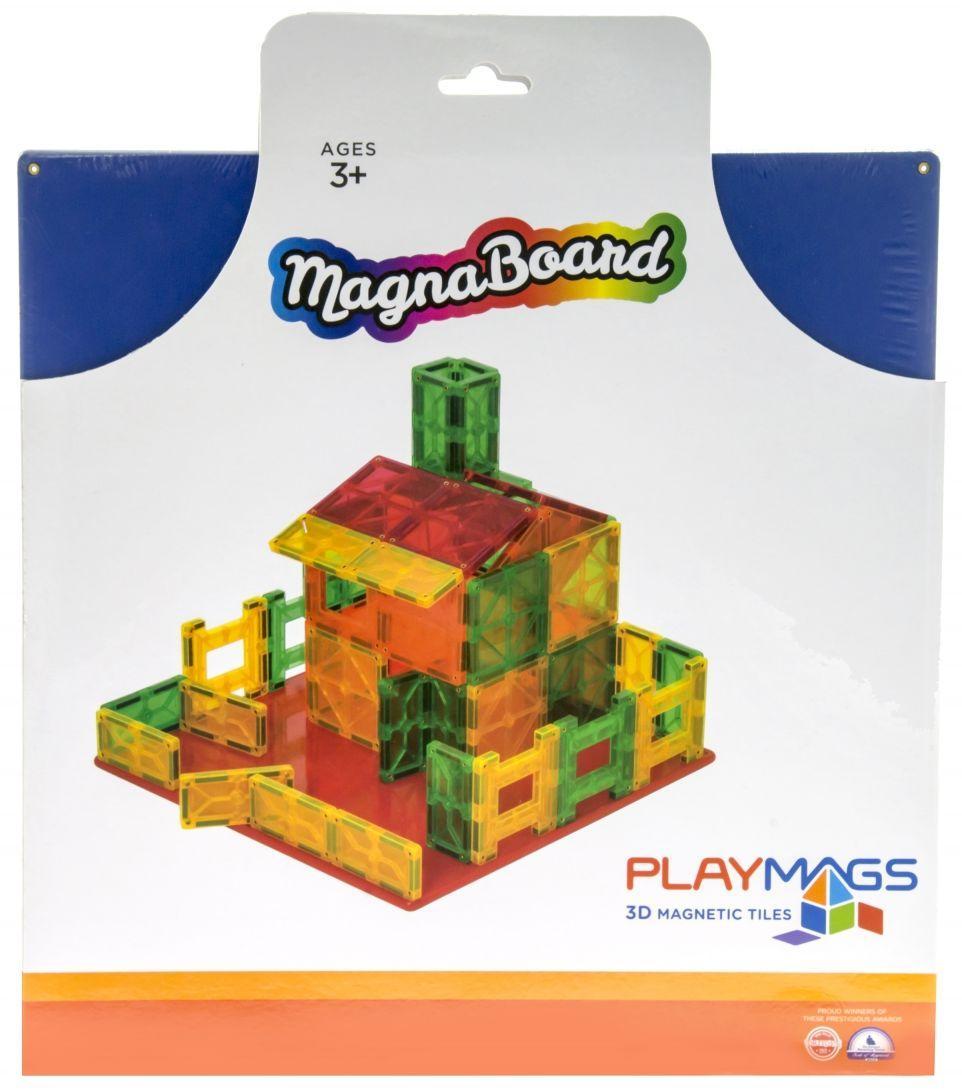 Магнитный развивающий детский конструктор Playmags PM159