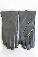 Перчатки украшением в два ряда