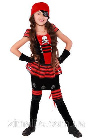 Пиратка карнавальный костюм детский