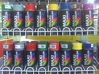 Эмаль аэрозольная универсальная декоративная, Maxi Color   400мл