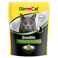 GimCat (Джимкет) GRASBITS 425г/710шт - витаминизированное лакомство для кошек с травой