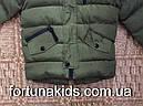 Куртки зимние на меху для мальчиков KE YI QI 1-5 лет, фото 5