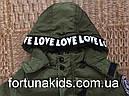 Куртки зимние на меху для мальчиков KE YI QI 1-5 лет, фото 4