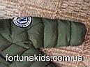 Куртки зимние на меху для мальчиков KE YI QI 1-5 лет, фото 6