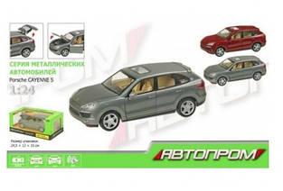 Машинка металлическая Автопром Porsche Cayenne S (68241A)