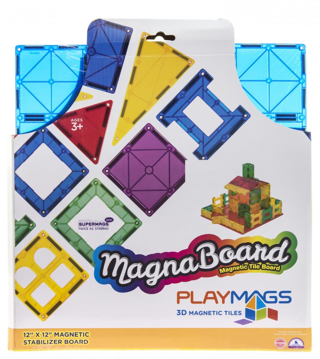 Магнитный развивающий детский конструктор Playmags PM167