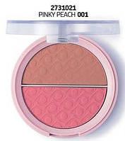 Матовые румяна Flormar 001 - 2731021 - pinky peach