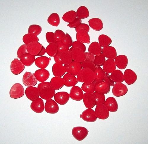 Носик для игрушки 8*7 мм, красный