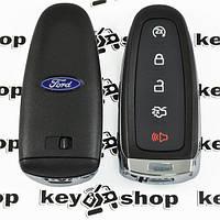 Оригинальный смарт ключ для FORD Edge (Форд Эдж) - 4+1 кнопки, чип id46 (PCF7945/7953), 315MHz