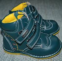 Осенние ботинки на мальчика Шалунишка размер 20-25