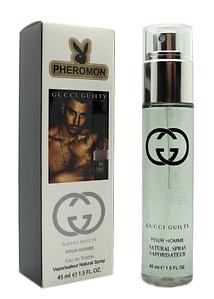 Мужской мини-парфюм с феромонами Gucci Guilty Pour Homme (Гуччи Гилти Пур Хом), 45 мл