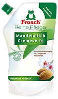 Органическое крем-мыло Миндальное молоко Frosch Mandelmilch Cremeseife, 500ml