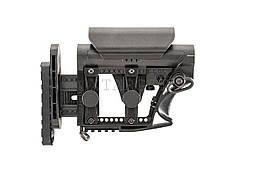 Приклад для AR-10/AR-15  LUTH-AR MBA-3 Carbine Цвет: Черный