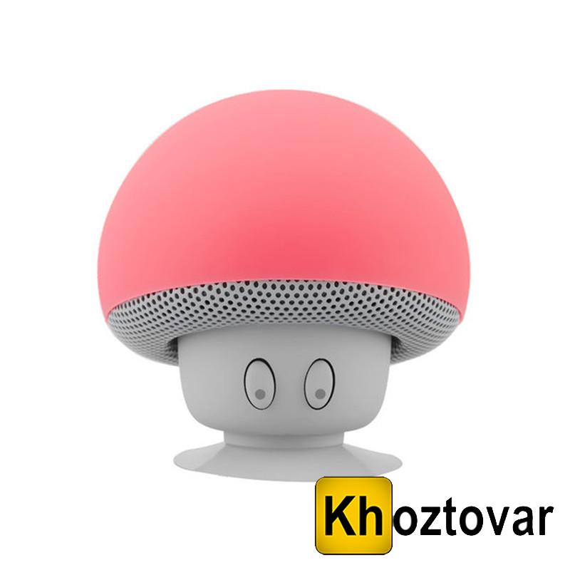 Водонепроницаемая Bluetooth колонка с микрофоном на присоске   Колонка в форме гриба