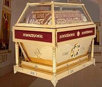 Гробница из нитрид титана для плащаницы Христа Спасителя