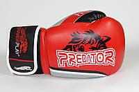 Перчатки боксерские Powerplay 3005 / WOLF /PU / red 10oz, фото 1
