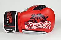 Перчатки боксерские Powerplay 3005 / WOLF /PU / red 8oz, фото 1