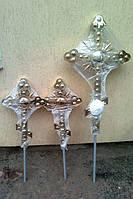 Фигурные кресты для храмов и часовен из булата