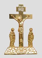 Купить Голгофу-крест из латуни настольную