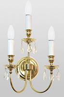 Светильник бра на три рожка для храма