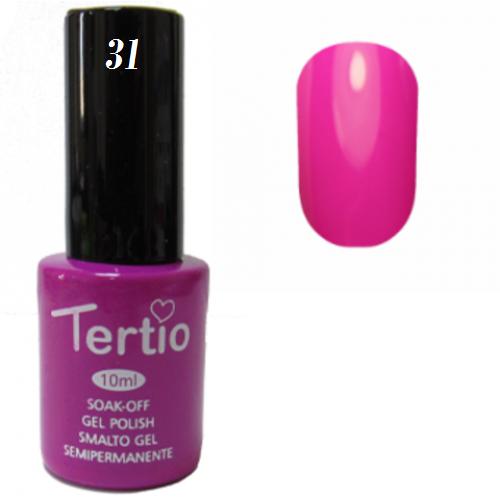 Tertio Гель-лак №031 (малиново-пурпурный), 10 мл