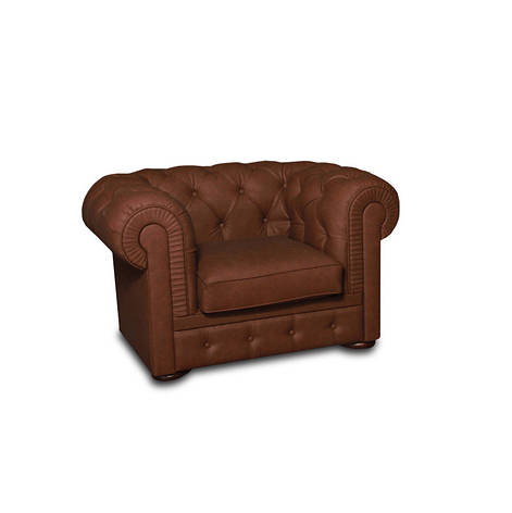 """Стильное кресло """"Честер Арт"""" (135 см), фото 2"""