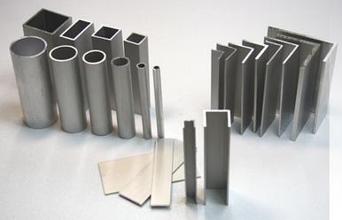 Поступление на склад алюминиевых профилей.