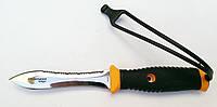 Нож для подводной охоты Pelengas Волга; серейтор/прямая заточка, фото 1