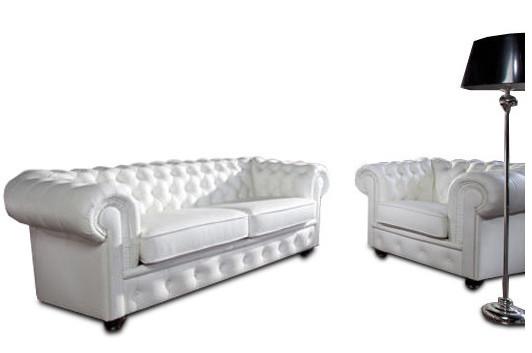 """Стильні меблі для вітальні """"CHESTERFIELD"""" (3+1)"""