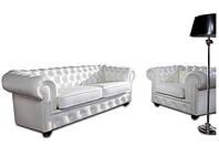 """Стильная мебель для гостиной """"CHESTERFIELD"""" (3+1)"""