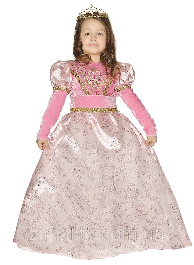 Принцесса карнавальный костюм детский