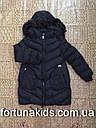 Куртки зимние на меху для девочек KE YI QI 8-16 лет, фото 2