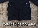Куртки зимние на меху для девочек KE YI QI 8-16 лет, фото 4
