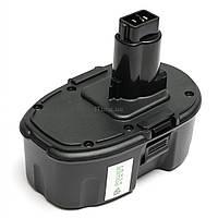Аккумулятор к электроинструменту PowerPlant для DeWALT GD-DE-18(A) 18V 3Ah NIMH (DV00PT0035)